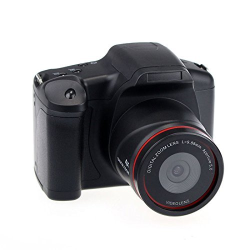 Digital Video SLR Camera with 4X Digital Zoom and 2.8 Inch LCD Screen (HD 720P 12MP) by Emperor of Gadgets
