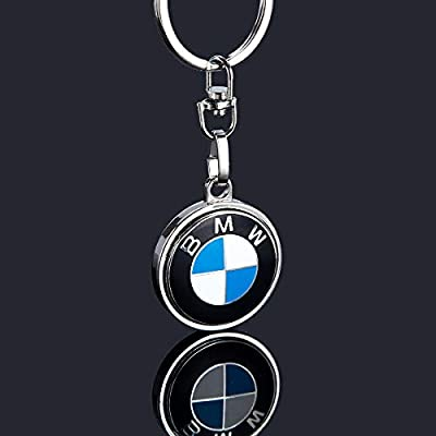KLFALL Metal Key Chain Key Rings - 3D Keychains Keyrings Excellent Quanlity Best for Man and Woman Gifts Elegant Durable for BMW Cars: Automotive
