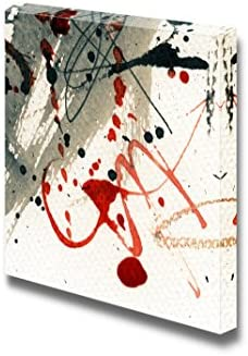 Abstract Grunge Painting Wall Decor