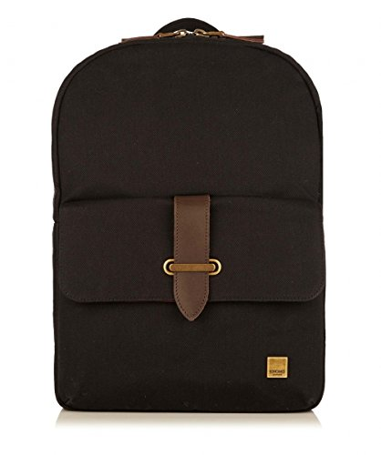 Knomo Balham Bude 15-Inch Zip Top Backpack, Black