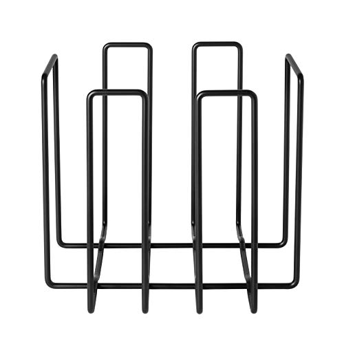 Blomus Wire Magazine Holder Recycling Container - Black