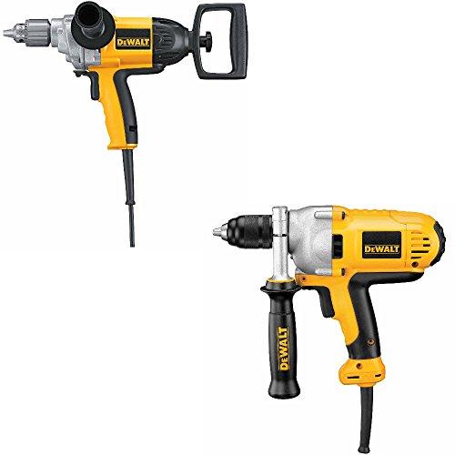 DeWalt DW130V 1/2 inch Spade Hdl Drill & DeWalt DWD215G 1/2 inch VSR Mid-Hdl Grip Drill