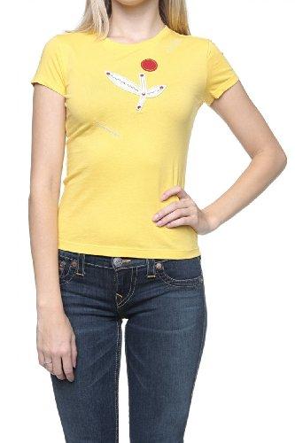 Custo Barcelona Camiseta SMALL FLEUR Amarillo