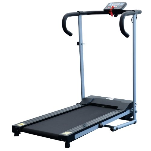 Homcom Unisex Motorised Electric Treadmill,...