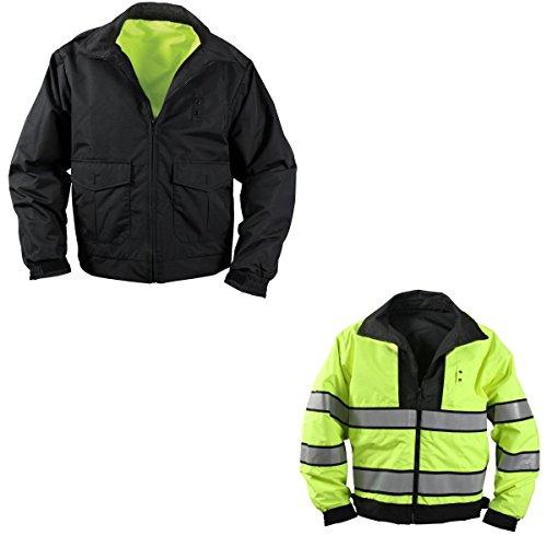 Rothco Reversible Hi-Visibility Uniform Jacket, 3X by Rothco
