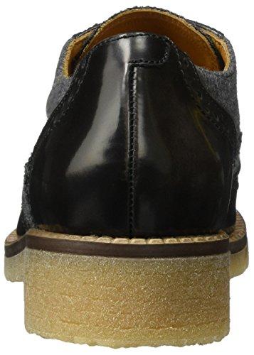 Mujer de Cordones para Derby 01 1 Zapatos Peperosa Lava Gris 2510 wxqBWAgq0