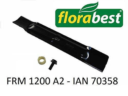 Flora Best Cuchillo Cuchilla de repuesto + Tornillo para ...