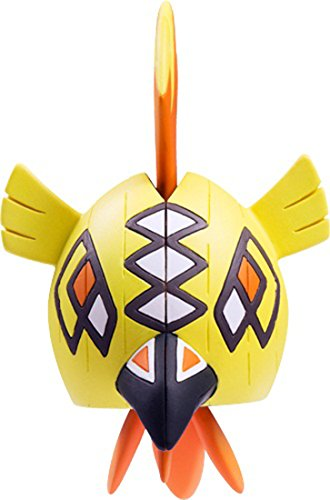 Takaratomy Pokemon Sun & Moon Ehp-06 Tapu Koko Action Figure, 2.5