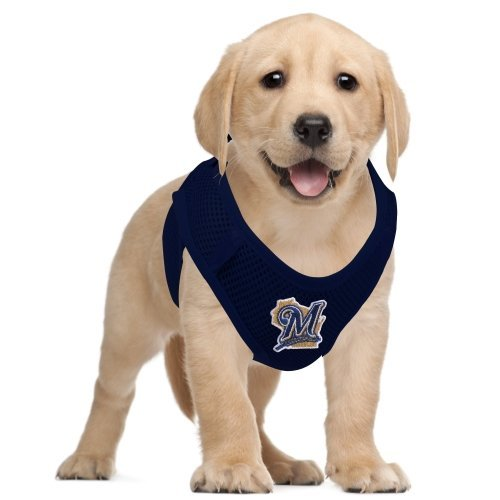Milwaukee Brewers Hunter Pet Vest Harness Large//X-Large