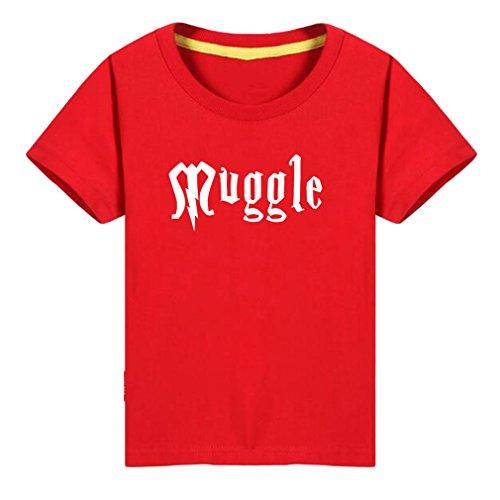 Conquershop Kids Muggle Humor Magic Lovers T-Shirt (R,7)