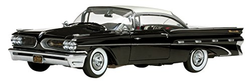 Pontiac Bonneville Hardtop - SunStar 1/18 Scale - 5174 1959 Pontiac Bonneville Hard top Cameo Ivory black