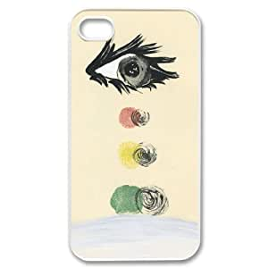 WJLCASE Design - 8WJL9453 Custom Drop and roll Durable Hard Back Cover Case for Iphone 4,4S