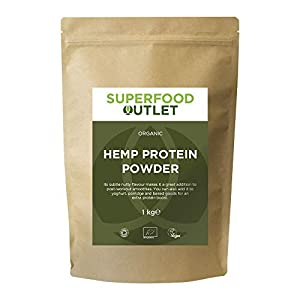 Superfood Outlet Organic Hemp Protein Powder 1kg
