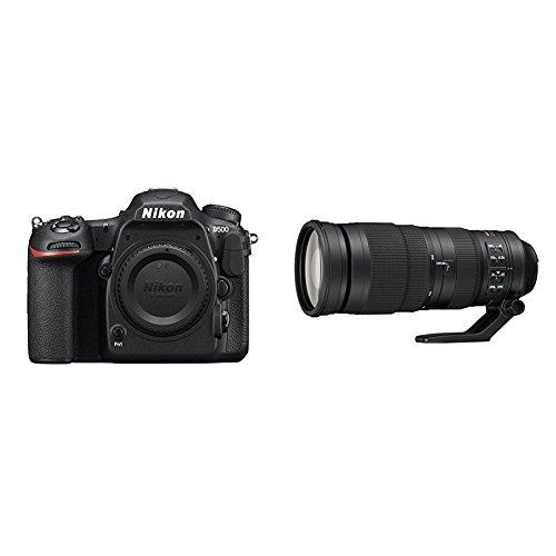 Nikon D500 DX-Format Digital SLR Sports and Wildlife Lens Kit