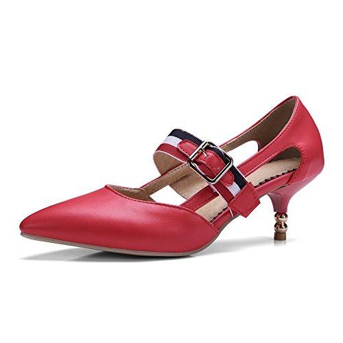 Sandales Compensées Red Compensées Femme Sandales Sandales BalaMasa Red Compensées Femme Femme BalaMasa BalaMasa Red qFZ1Rfw