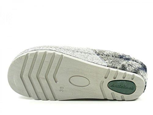 Rohde Riesa-40, Zuecos para Mujer Grau