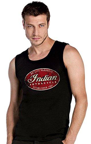 Indian Panhead Harley angels mc motorradclub biker chopper schwarze Top Tank T-Shirt -2172
