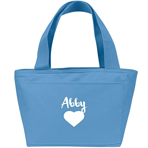 Personalized Party Cooler - Abby Heart Lunch Bag: Liberty Bags Recycled Cooler Lunch Box Bag