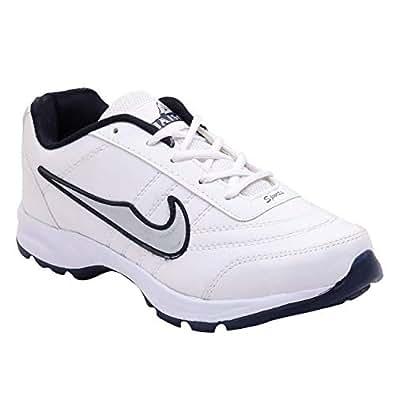 Jaisco White Running Shoes For Men, 9 UK