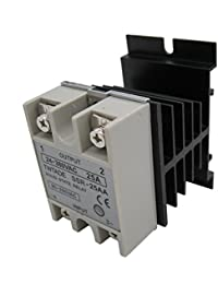 SSR Solid State Relay + Heat Sink