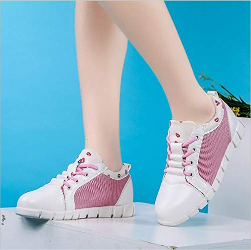 Deck Flache C Sommer Schuhe Lace Schuhe Sneakers Exing Bequeme Neue up Mesh Herbst Damen Freizeitschuhe Paqw7TWpn
