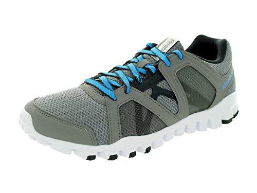 Reebok Realflex Train Rs 2 0 Mens Training Shoe 8 Grey Blue Black