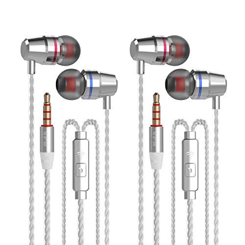 Silvery Headphones Microphone Earbuds Samsung product image