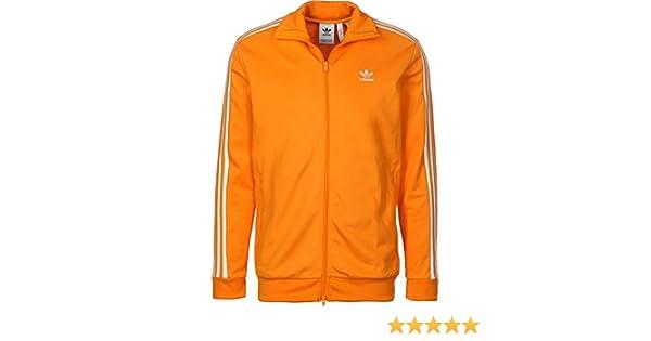 adidas Beckenbauer TT - Chaqueta, Hombre, Naranja(NARBRI): Amazon ...