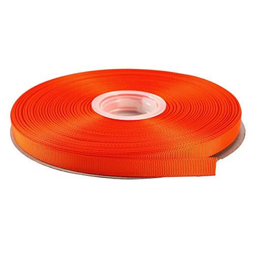 Yds Orange Grosgrain Ribbon - ITIsparkle 3/8