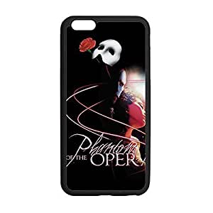 Distinctive Style Printed Image from Phantom of the Opera Snap on Soft TPU Case Cover for iPhone 6 4.7