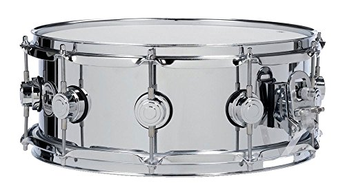 Drum Workshop Collector's Series Polished Chrome over Steel Snare Drum - 6.5