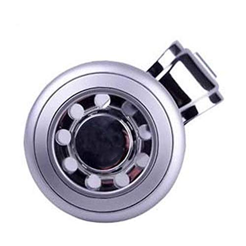 LJSHU Car Universal Steering Wheel Rotator Knob Stainless Steel Bearing Control Labor-Saving Supercharger Direction Control Accessories,Silver: Amazon.co.uk: Sports & Outdoors