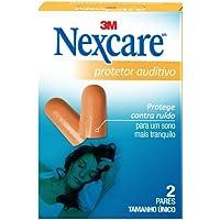 Protetor Auditivo Nexcare, Nexcare, Laranja