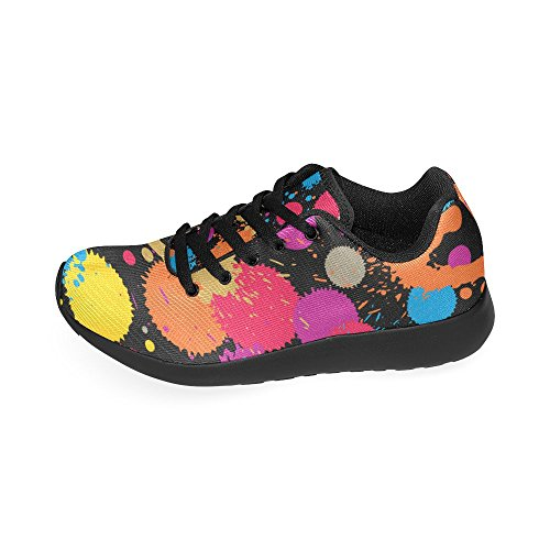 15 Ink Sneakers InterestPrint On Athletic Women's Pattern Shoes US 6 Size colorful Lightweight Running Casual Splash Print B5BWwa7q
