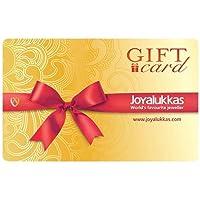 Joyalukkas Gold & Diamond Jewellery Gift Card
