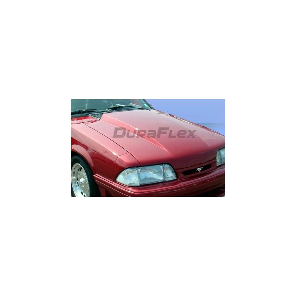 1987 1993 Ford Mustang Duraflex Cowl Hood   1 Piece