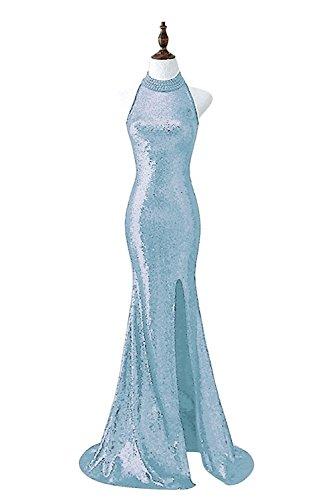 Vimans Damen Schlauch Kleid Hellblau i8UHLuF9