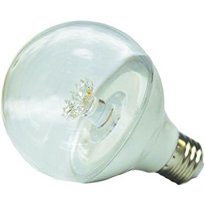 EcoSmart 40W Equivalent Soft White G25 Clear LED Light Bulb