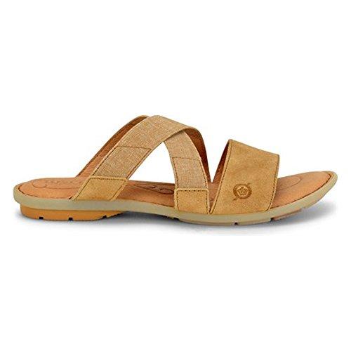 Born Women's Tidore Shoes (8, Tan Distressed)