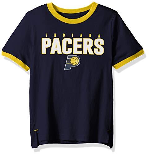 (Outerstuff NBA NBA Kids & Youth Boys Indiana Pacers Key Short Sleeve Fashion Tee, Dark Navy, Youth Medium(10-12))