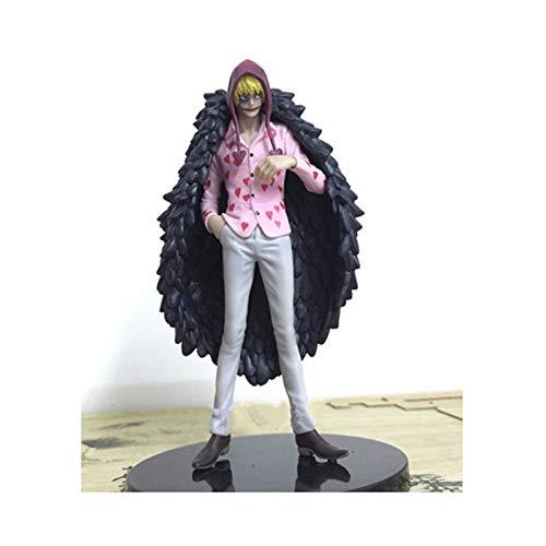 B  XIAOPING Motherland Edition One Piece Modèle Anime Barbe Noire Personnage Sculpture Static Plaything Statue de Jouet (Couleur   B)