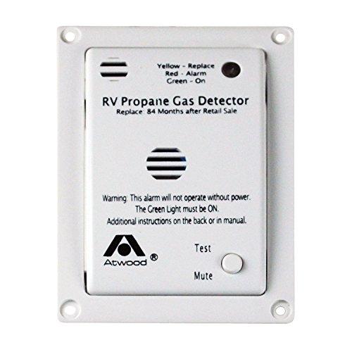 Price comparison product image Atwood 36720 RV Propane Gas Detector - 12V DC,  White