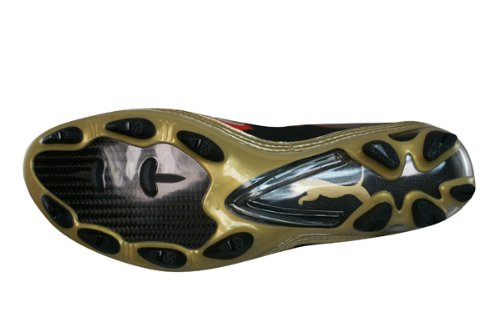 Puma V1.10 i FG Mens Fußballschuh / Cleats - schwarz & Gold