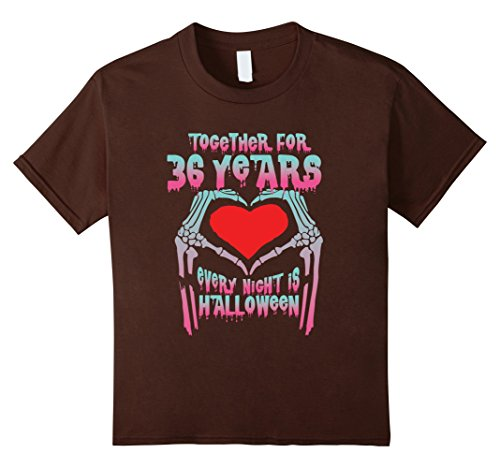 Kids Halloween Costume For Couple. 36th Wedding Anniversary Gifts 4 Brown