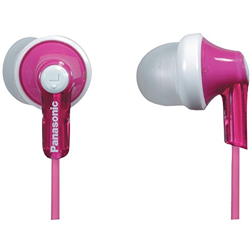 Panasonic RP-HJE120-P HJE120 Earbuds (Pink)