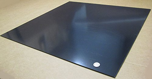 Amazon Com Abs Smooth Black Sheet 125 1 8 X 24 X 24 2 Pcs Industrial Scientific