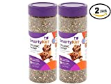 SmartyKat Certified Organic Catnip 2 oz Canister, 2.75 x 2.75 x 6.75 inch - Pack of 2