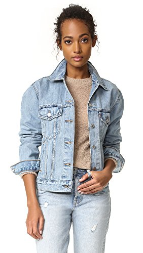 Levi's Women's Ex-Boyfriend Trucker Jacket, Dream of Life, X-Small