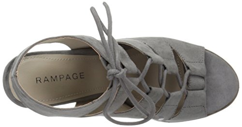 Harmaa Kallistuneen Sandaali Naisten Rampage Mikro Emmie cRHR7Fnq