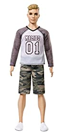 Barbie Ken Fashionistas Making a Camo Comeback Doll, Broad